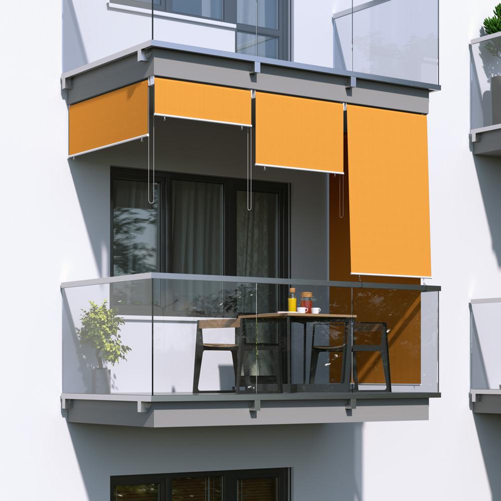 Store extérieur vertical, Orange
