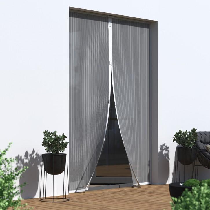 Moustiquaire Magnétique Pour Porte Prête à Poser Moustiquaires