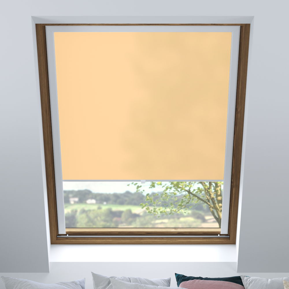 Store pour les fenêtres de toit, Sur mesure, Tamisant, Couleur chair