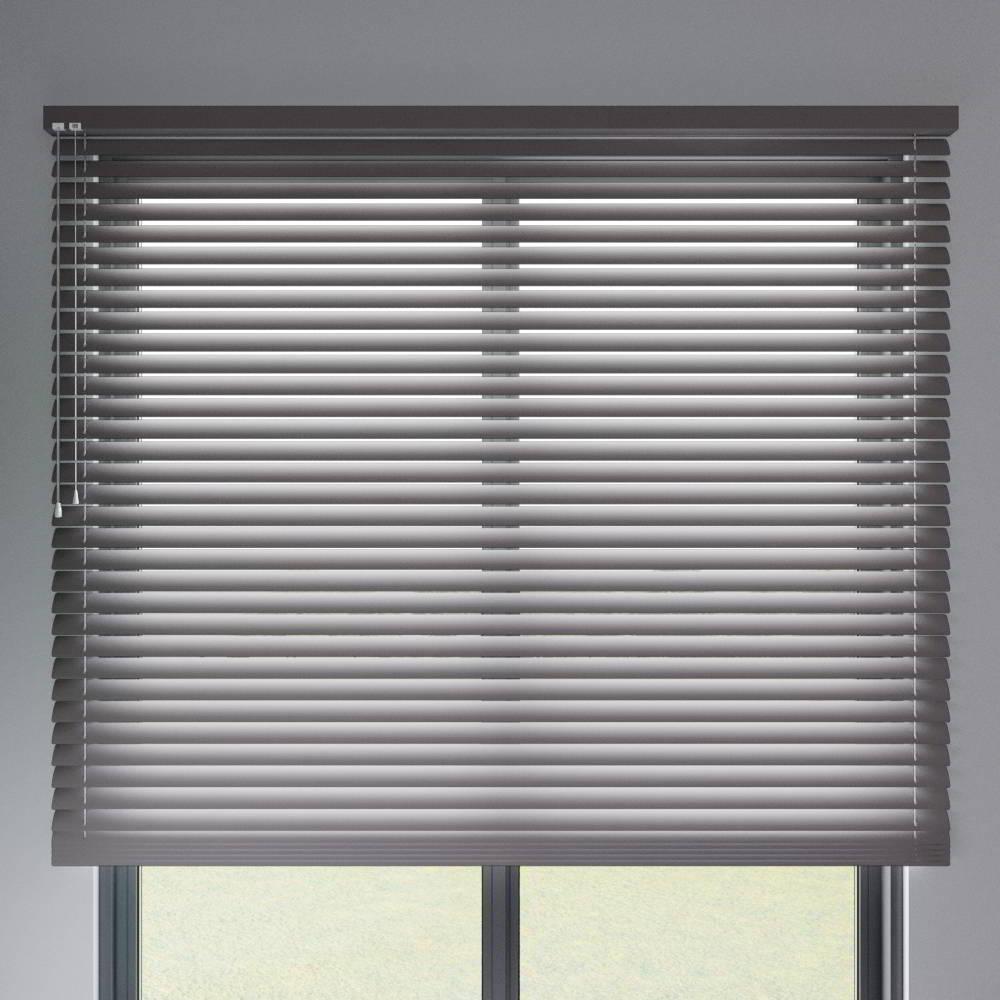 Store vénitien aluminium lames 50 mm, Gris graphite mat