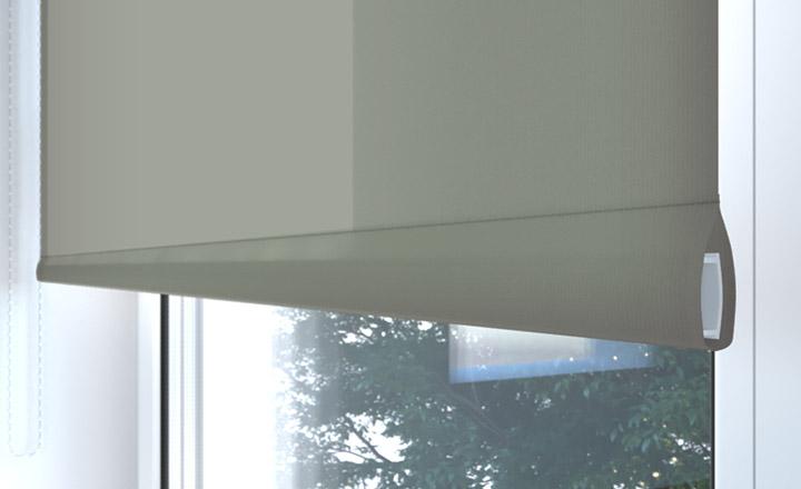 Żaluzje aluminiowe w salonie