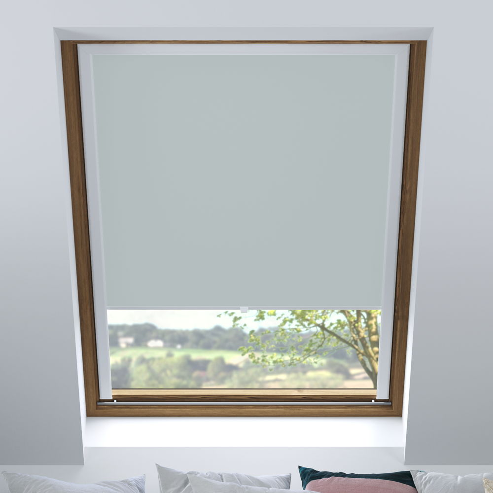 Store pour les fenêtres de toit, Sur mesure, Occultant, Écume de mer