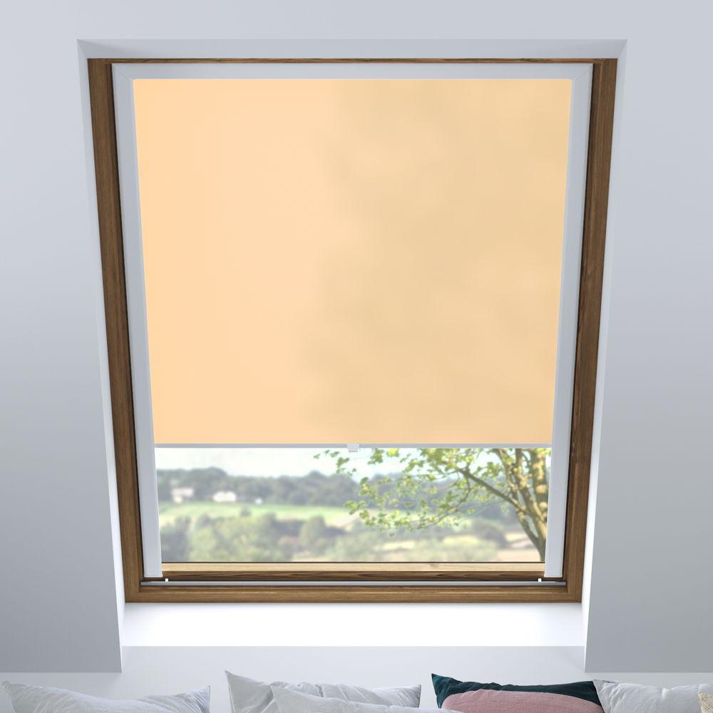 Store pour les fenêtres de toit, Sur mesure, Tamisant, Poudre