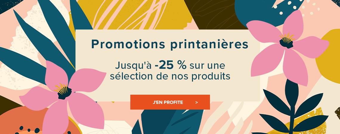 Promotions printanières