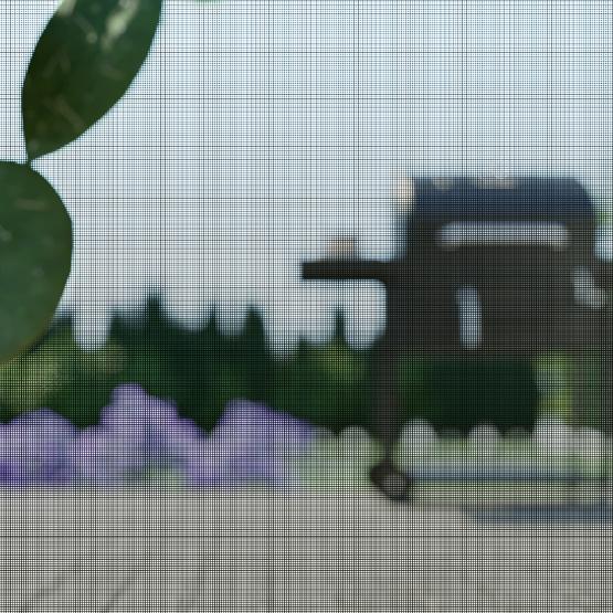 Toile moustiquaire en fibre de verre
