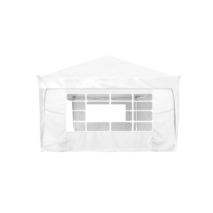 Rideau supplémentaire avec fenêtre pour tonnelle Basic et Premium, 295 x 195 cm