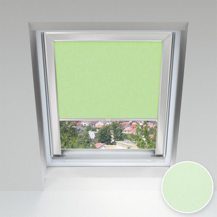 Store pour les fenêtres de toit, Sur mesure, Menthe
