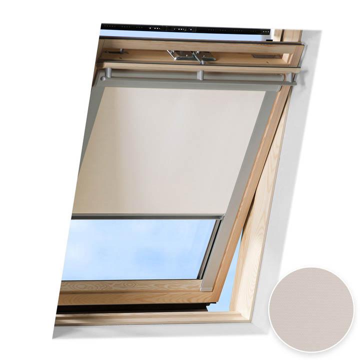 Store occultant pour fenêtre de toit compatible FAKRO ®, Crème