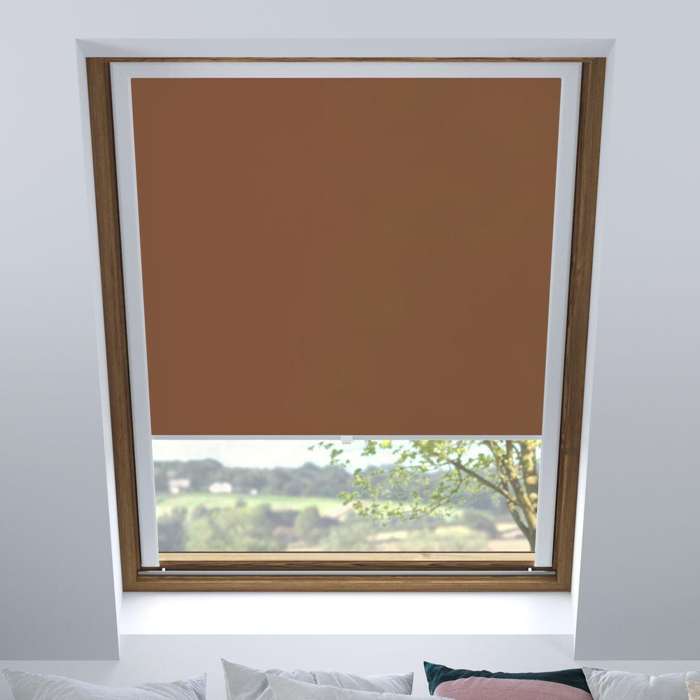 Store pour fenêtres de toit tamisant, Sur mesure, Confiture de lait