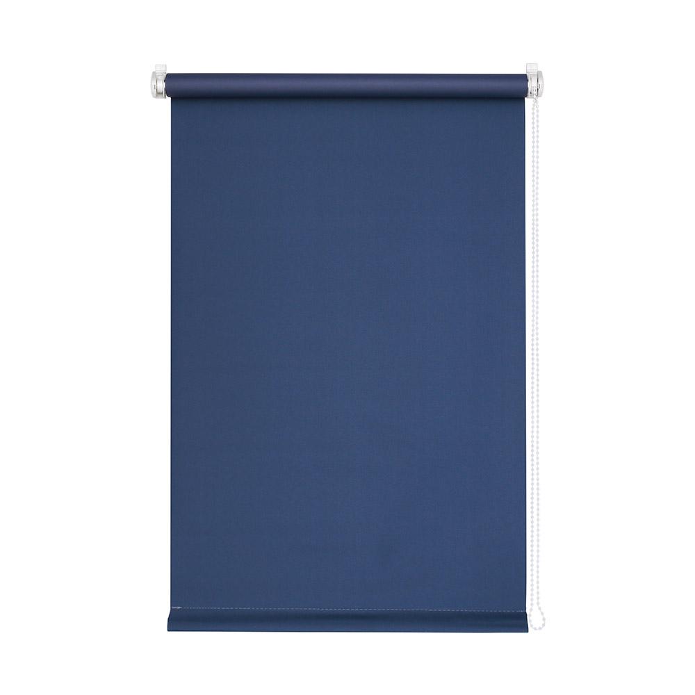Store Enrouleur Sans Perçage Occultant, Prêt-à-poser, Bleu