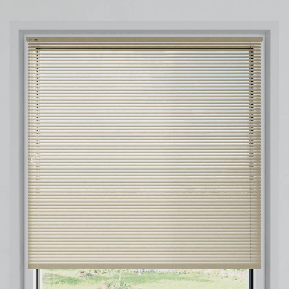 Store vénitien aluminium lames 25 mm, Texture de bois type Pin