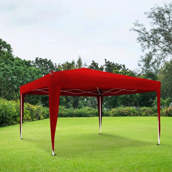 Structure de tonnelle avec toit Basic, 3x3 m