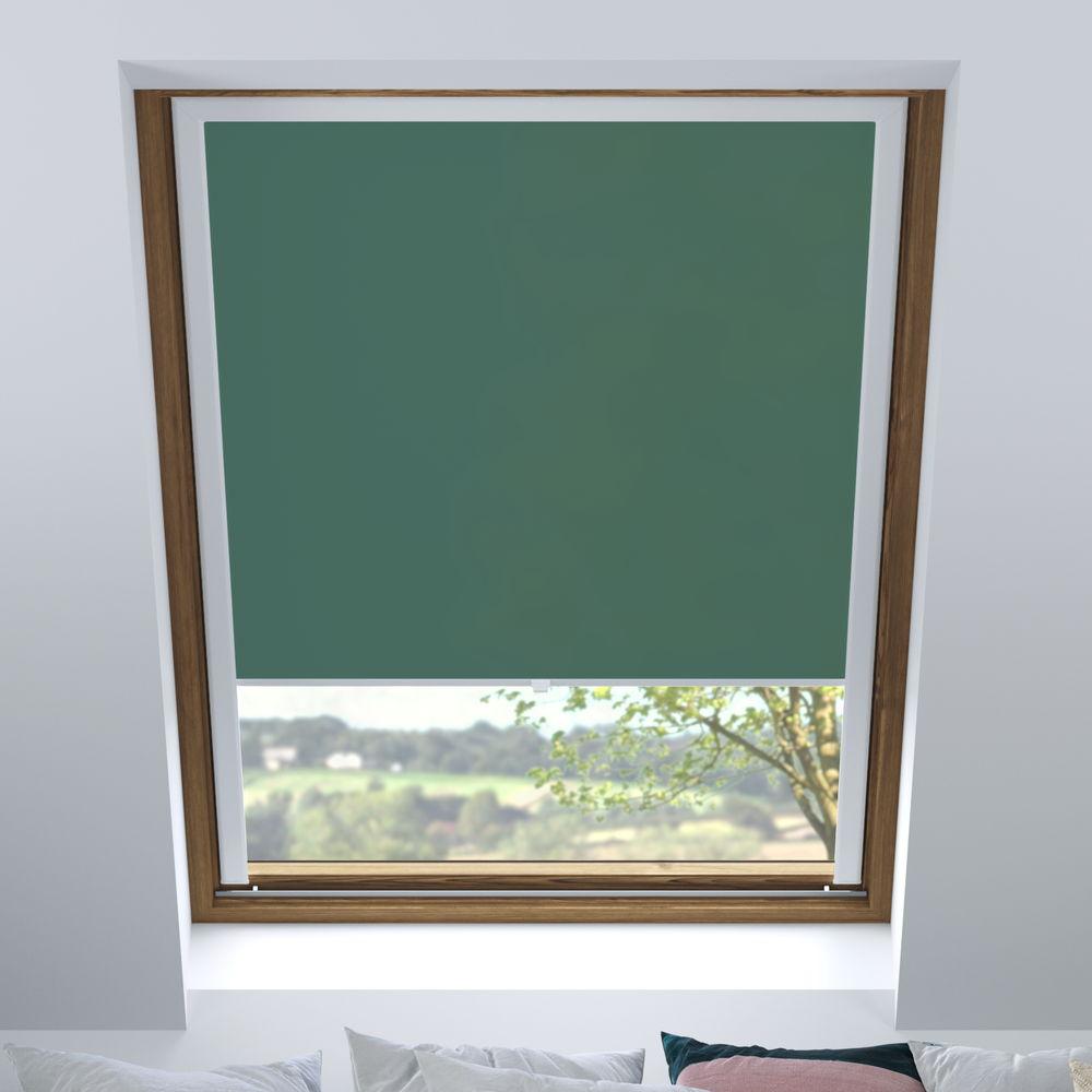 Store pour les fenêtres de toit, Sur mesure, Tamisant, Malachite