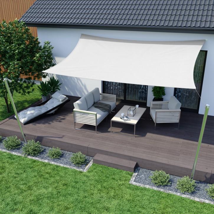 voile d 39 ombrage rectangulaire imperm able voiles d 39 ombrage stores ext rieurs domondo. Black Bedroom Furniture Sets. Home Design Ideas