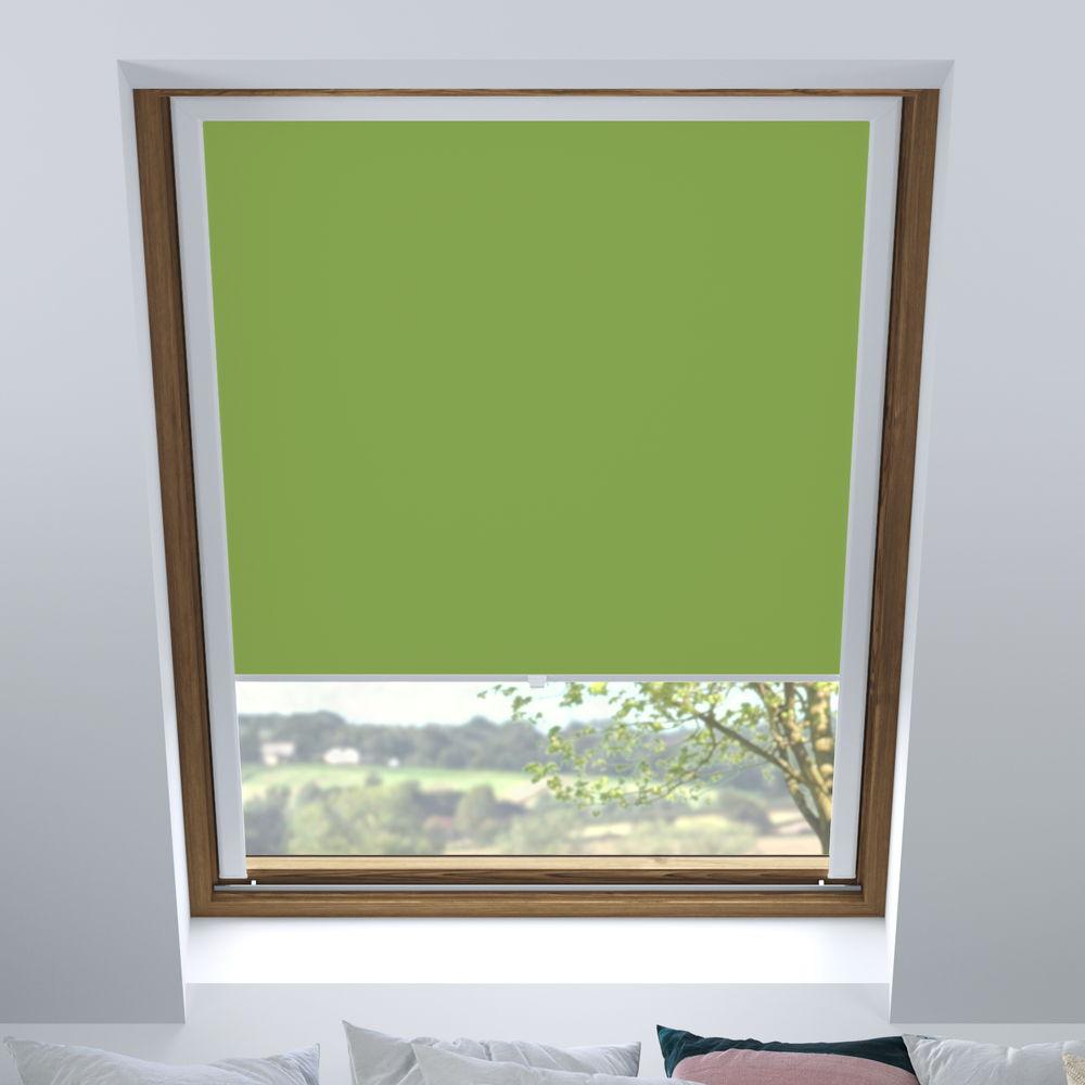 Store pour les fenêtres de toit, Sur mesure, Occultant, Fougère