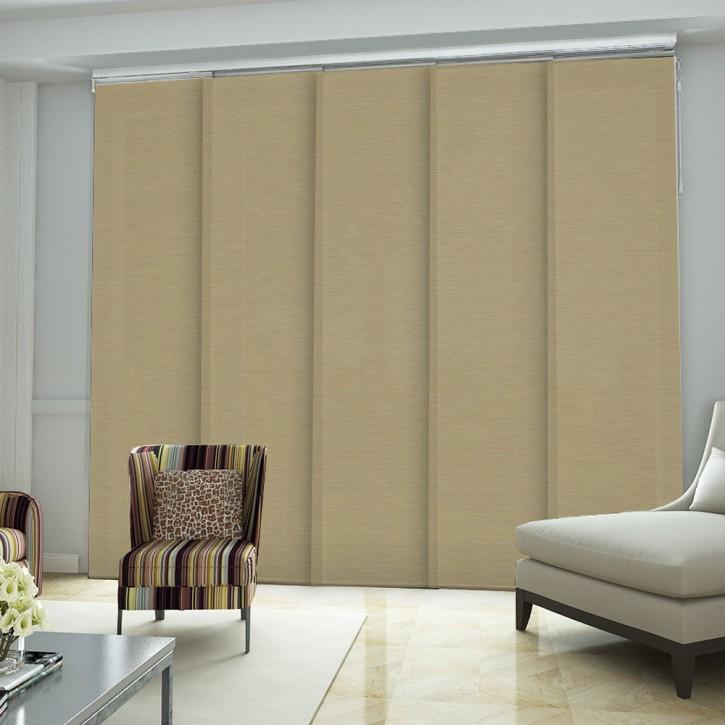 panneau japonais tissu lin pr t poser panneaux. Black Bedroom Furniture Sets. Home Design Ideas