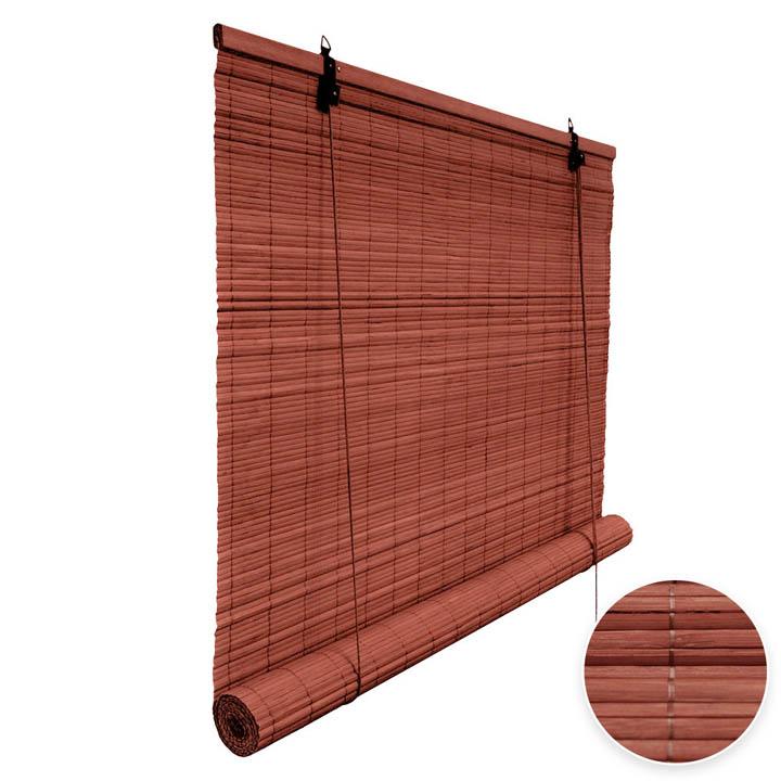 Store en bambou cerise