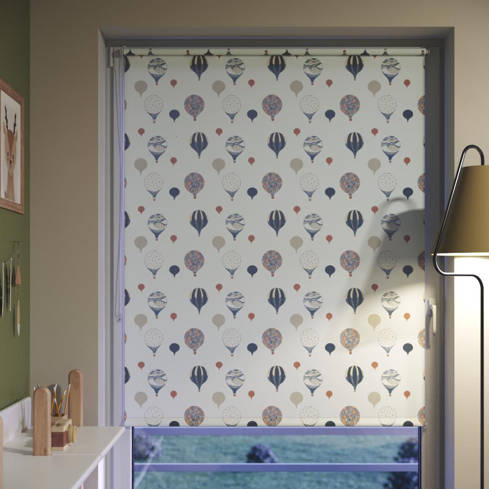 Batiste material curtain