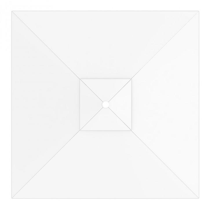 Toile de parasol carrée 3x3 m, Interpara