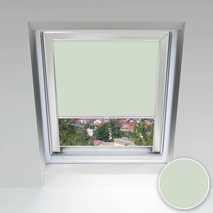 Store pour les fenêtres de toit, Sur mesure, Thé à la menthe