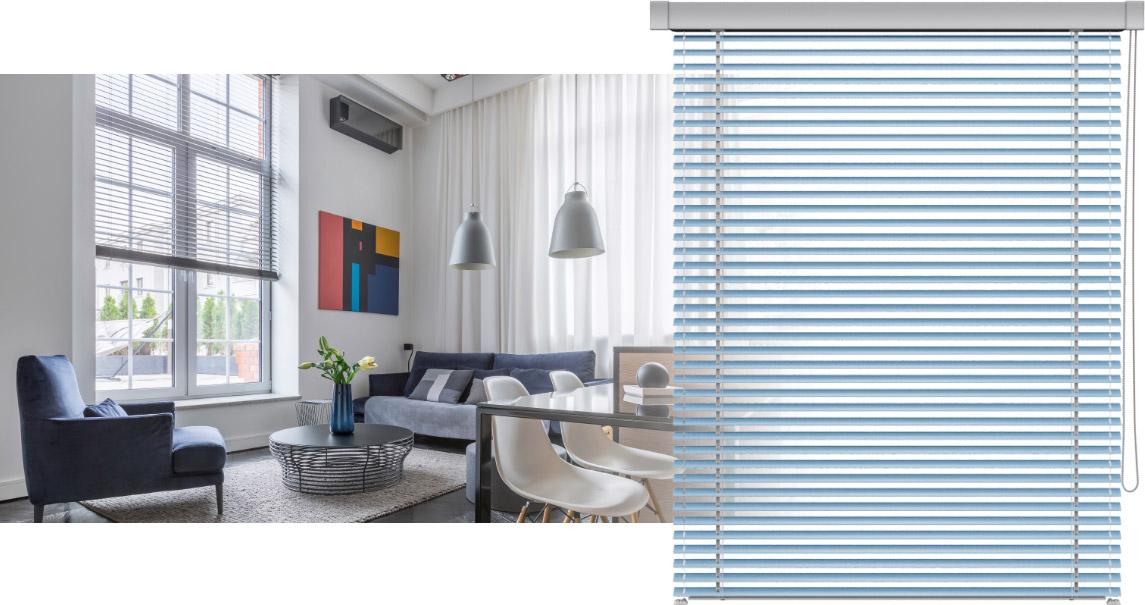 Żaluzja aluminiowa na okna