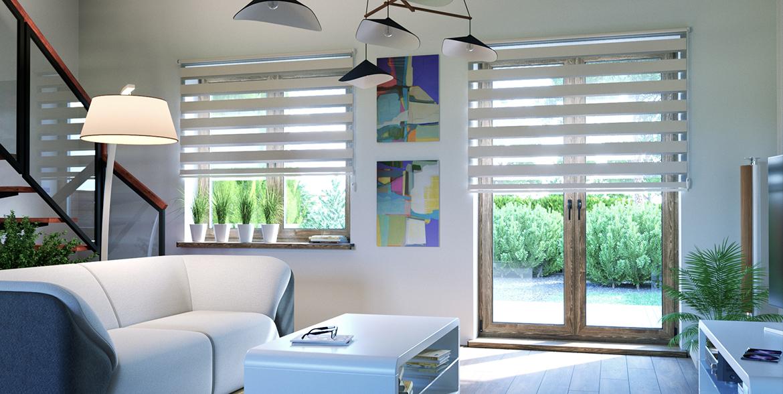 store enrouleur jour nuit sans coffre tamisant domondo. Black Bedroom Furniture Sets. Home Design Ideas