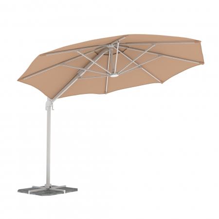 Parasol déporté, forme ronde 3,5 m