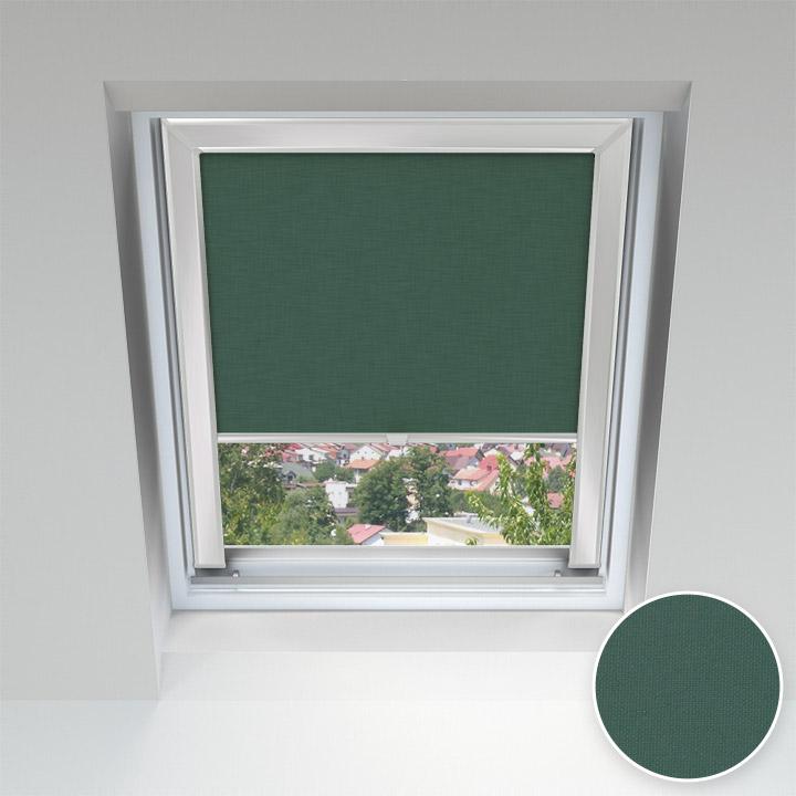 Store pour les fenêtres de toit, Sur mesure, Malachite