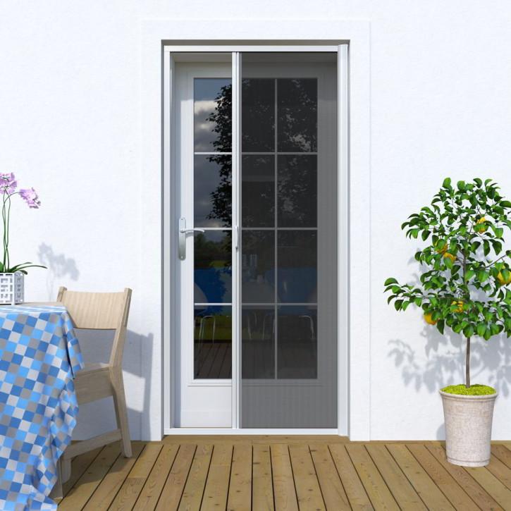 Moustiquaire enroulable latérale pour porte, Sur mesure