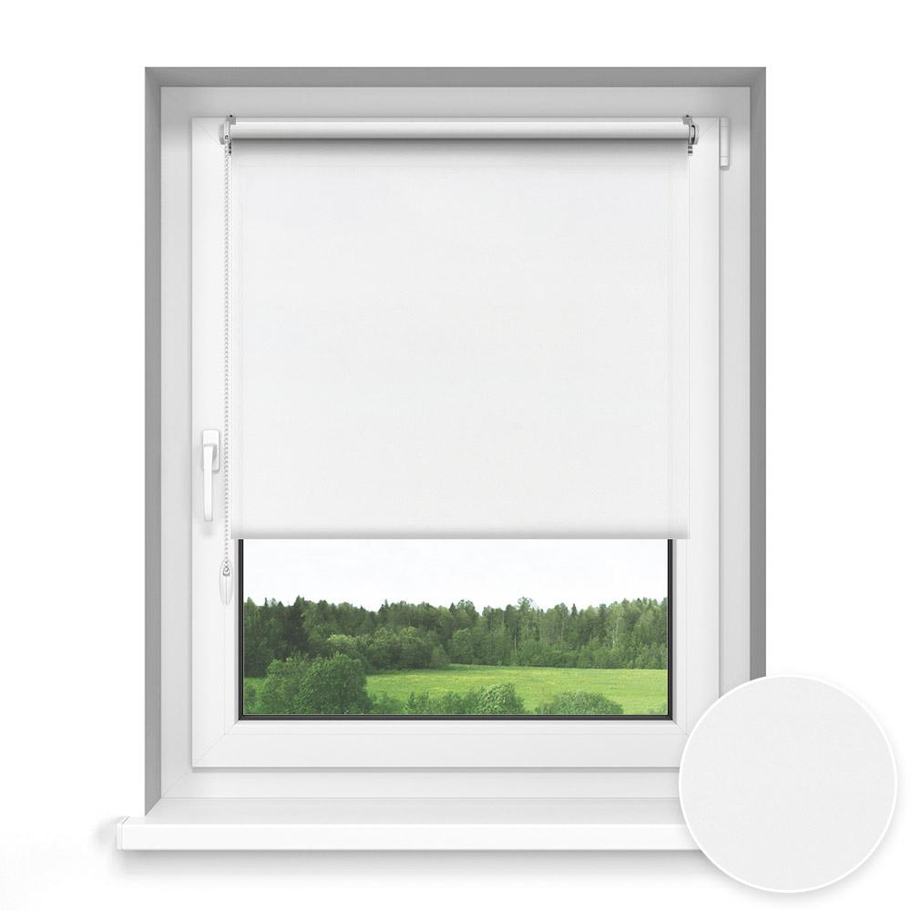 Store Enrouleur Sans Perçage Sur Mesure, Standard, Blanc