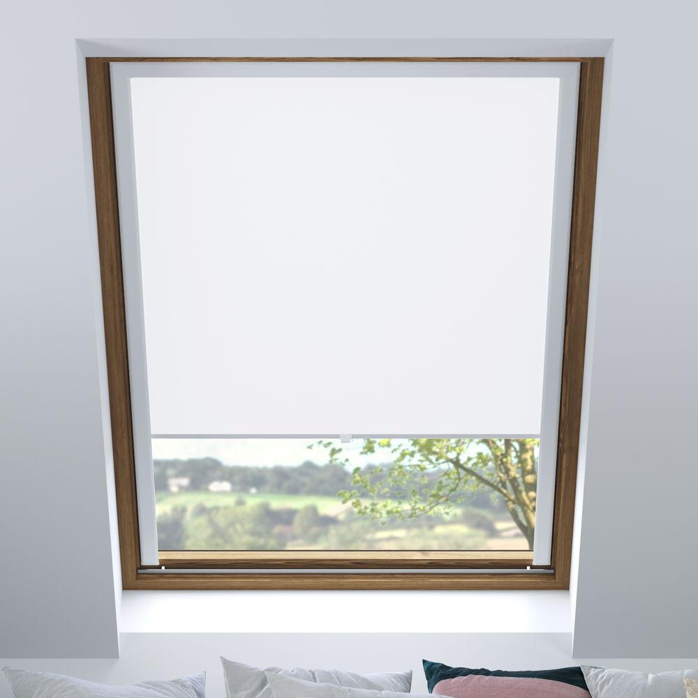Store pour les fenêtres de toit, Sur mesure, Occultant, Tempête de neige