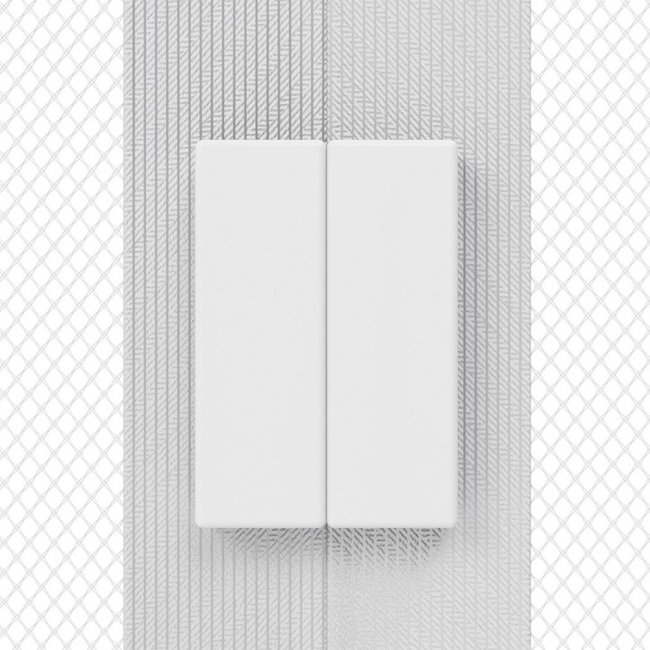 Moustiquaire magnétique pour porte, prête-à-poser