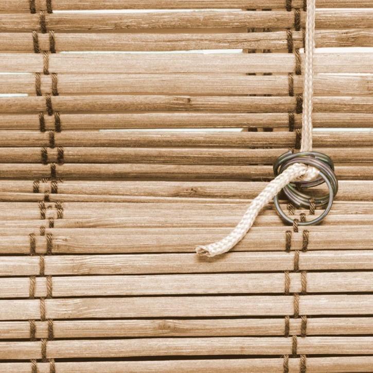 Store en Bambou type bateau