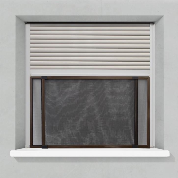 Moustiquaire pour fenêtre avec volet roulant, Prête-à-poser