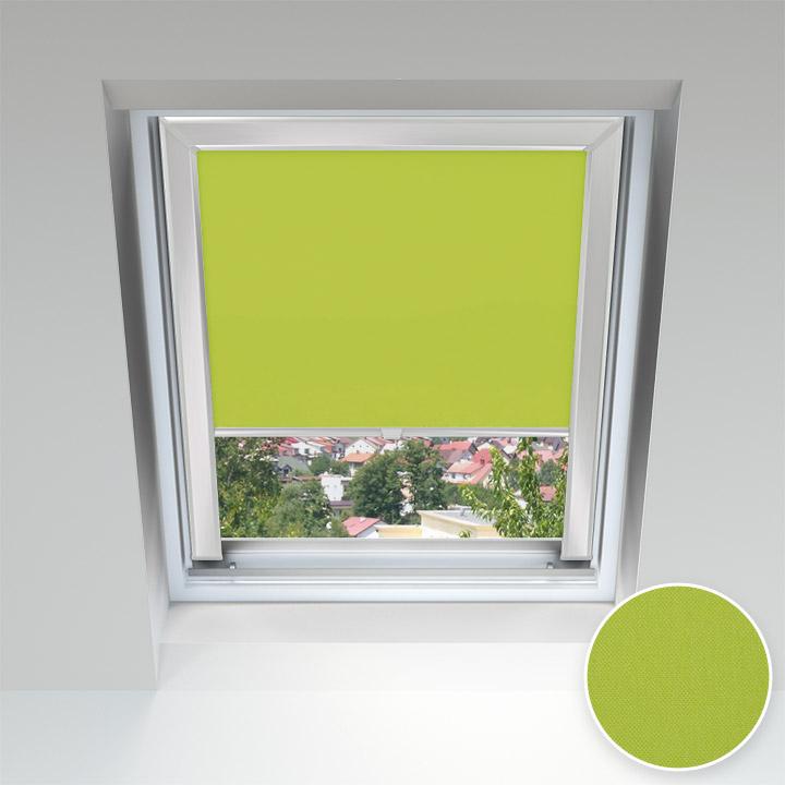 Store pour les fenêtres de toit, Sur mesure, Pistache