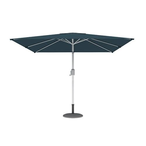 Parasol droit orientable carré, 3x3 m