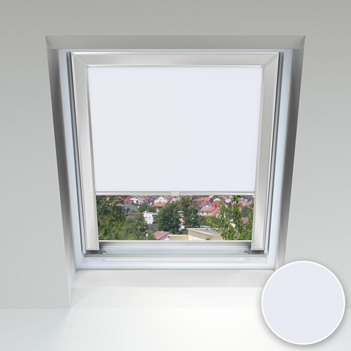 Store pour les fenêtres de toit, Sur mesure, Tempête de neige