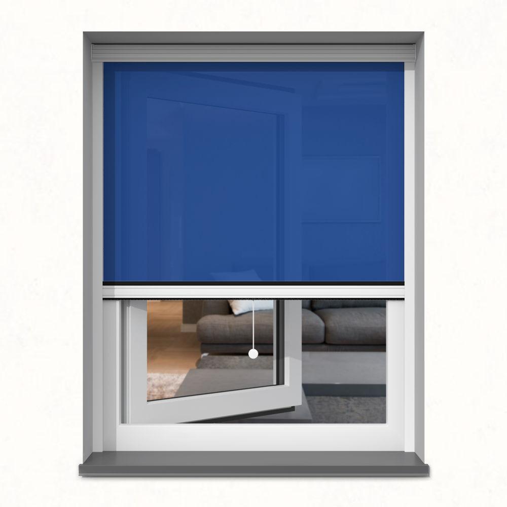 Store screen extérieur, Sur mesure, Bleuet
