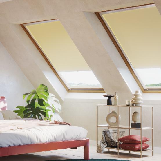 Store enroulable pour fenêtre de toit