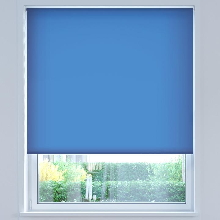 Store Enrouleur Sans Coffre Sur Mesure, Standard 2.0, Fleur de bleuet