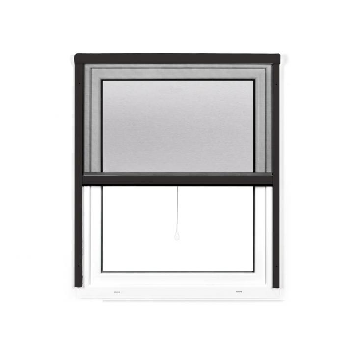 Moustiquaire enroulable pour fenêtre, Prête-à-poser