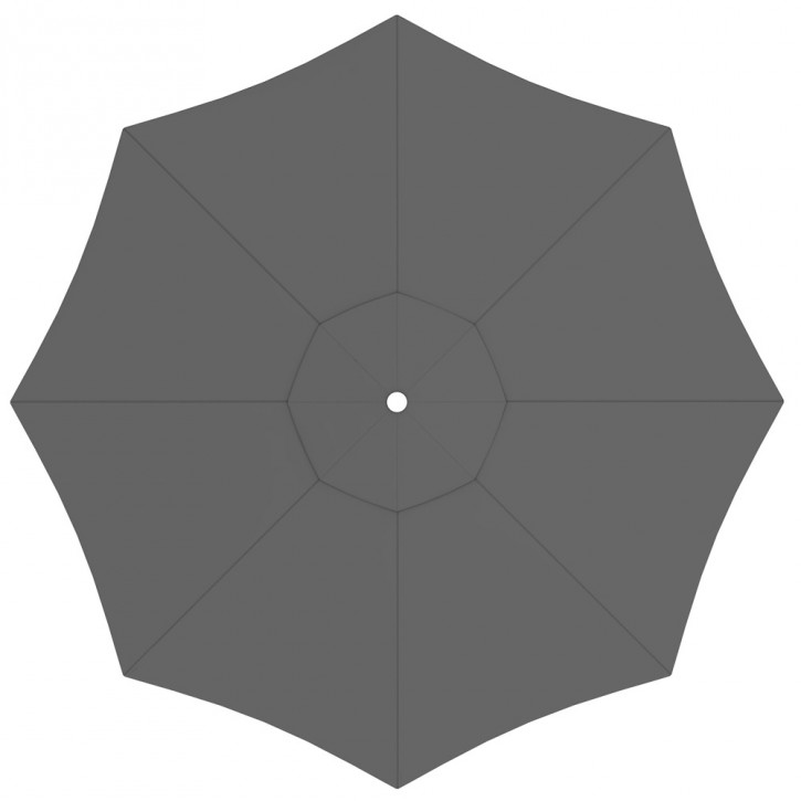 Toile de parasol ronde 5 m, Paragrandi