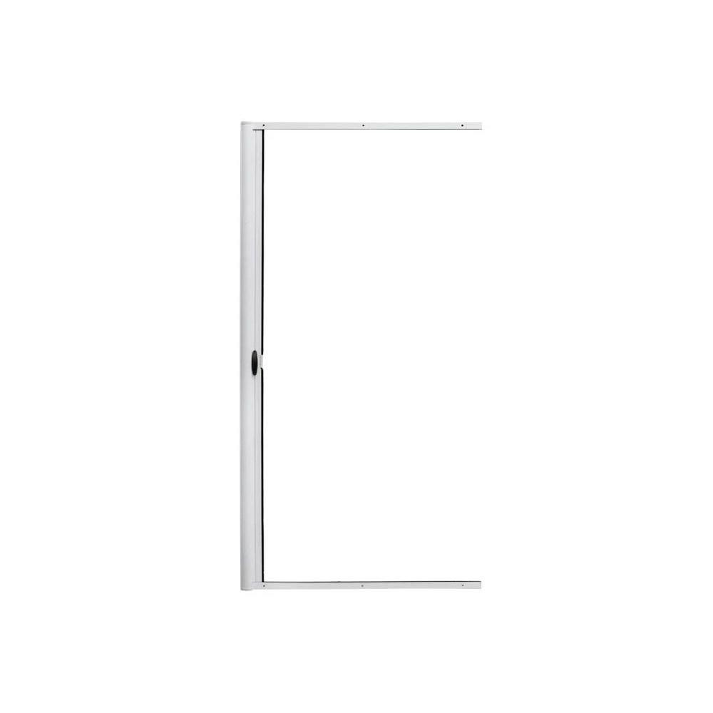 Moustiquaire enroulable latérale pour porte, Prête-à-poser, Blanc