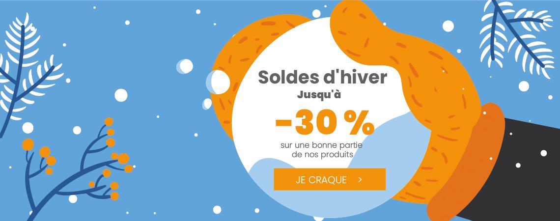 Soldes d'hiver -30%