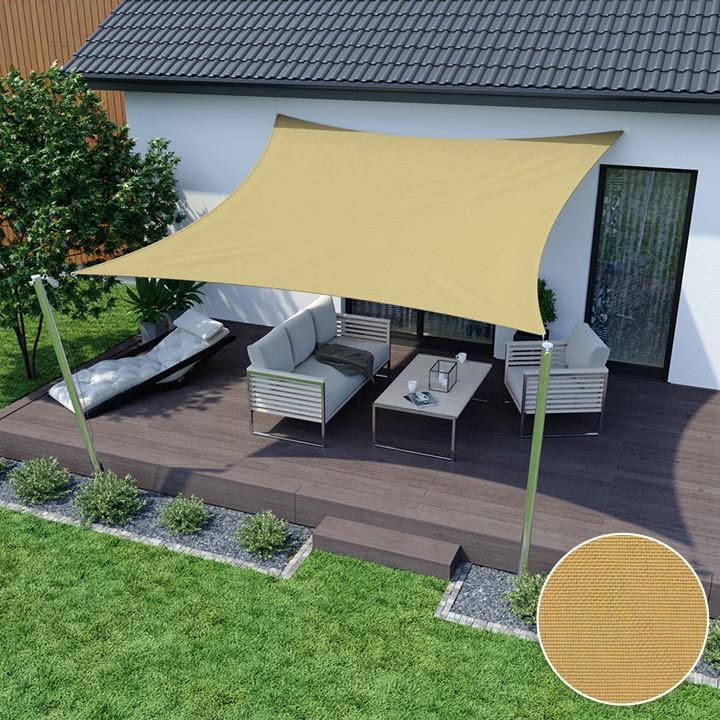 voile d 39 ombrage carr e imperm able voiles d 39 ombrage stores ext rieurs domondo. Black Bedroom Furniture Sets. Home Design Ideas