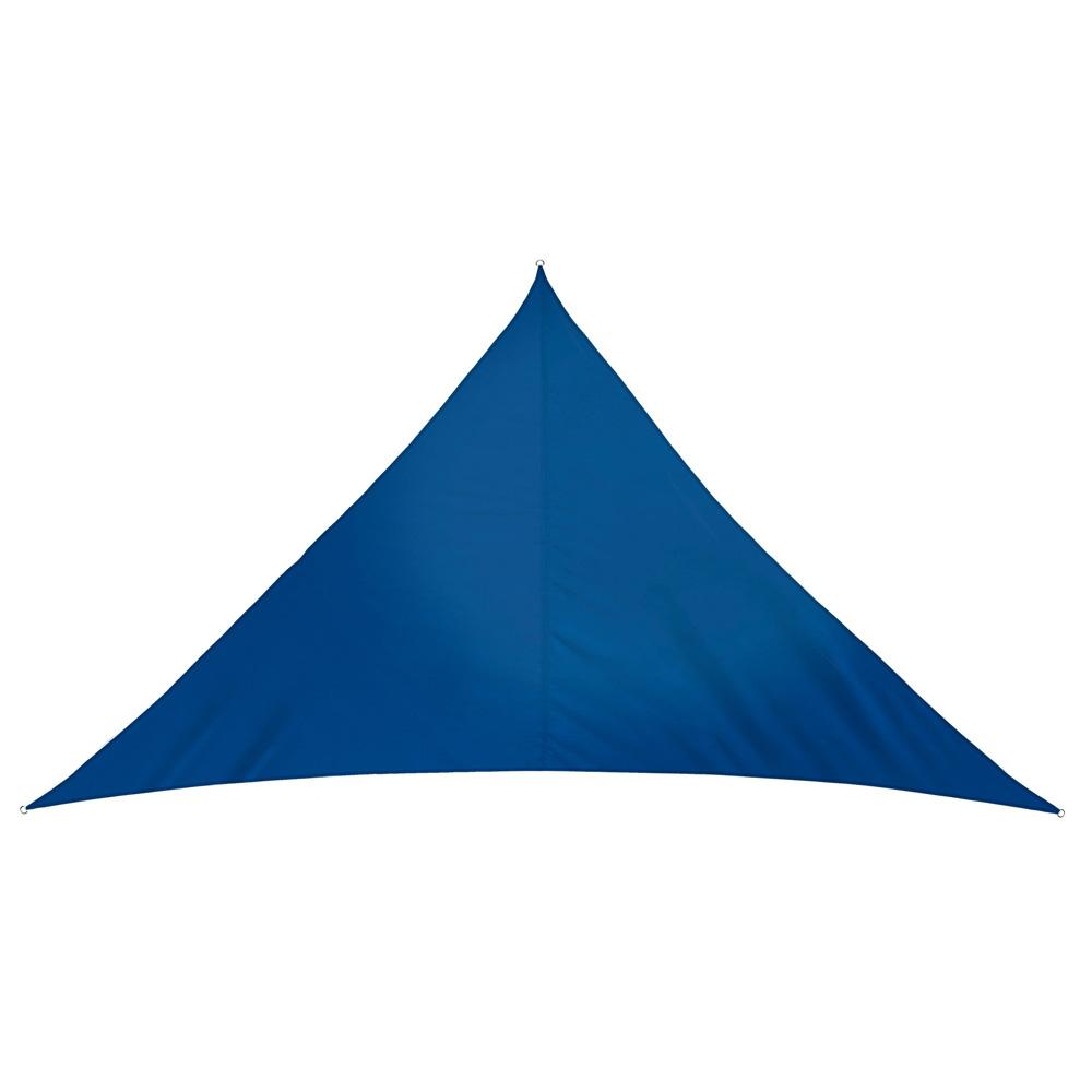 Voile d'ombrage triangulaire, imperméable, Azur