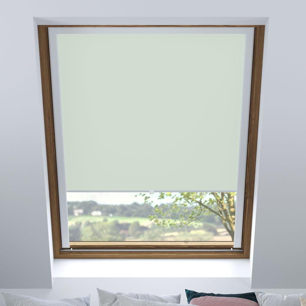 Store pour les fenêtres de toit, Sur mesure, Occultant, Thé à la menthe