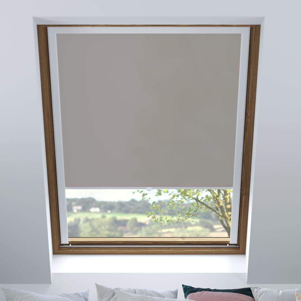 Store pour les fenêtres de toit, Sur mesure, Tamisant, Béton