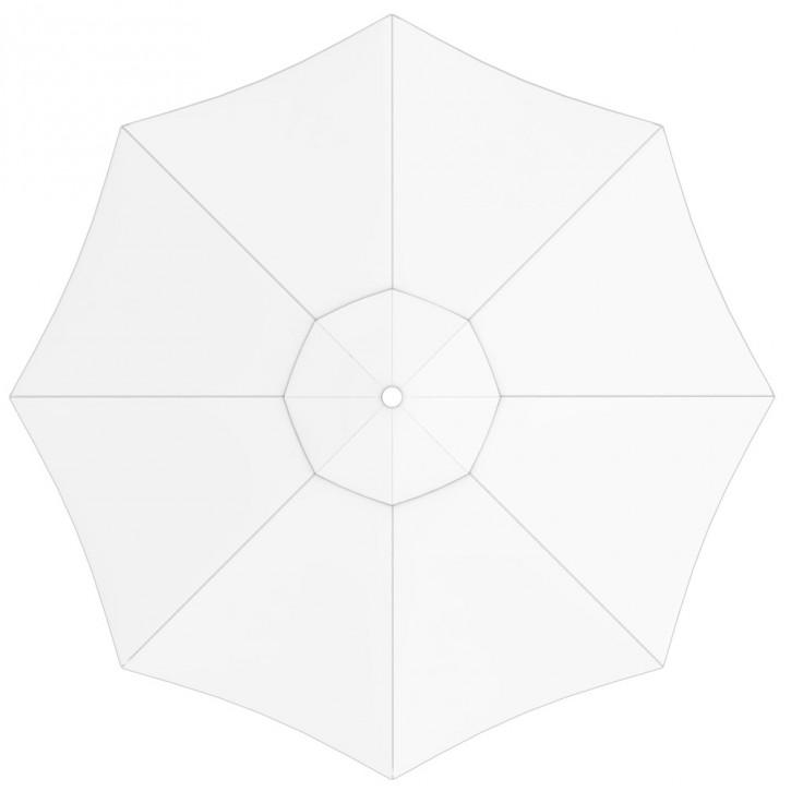 Toile de parasol ronde 3,5 m, Interpara