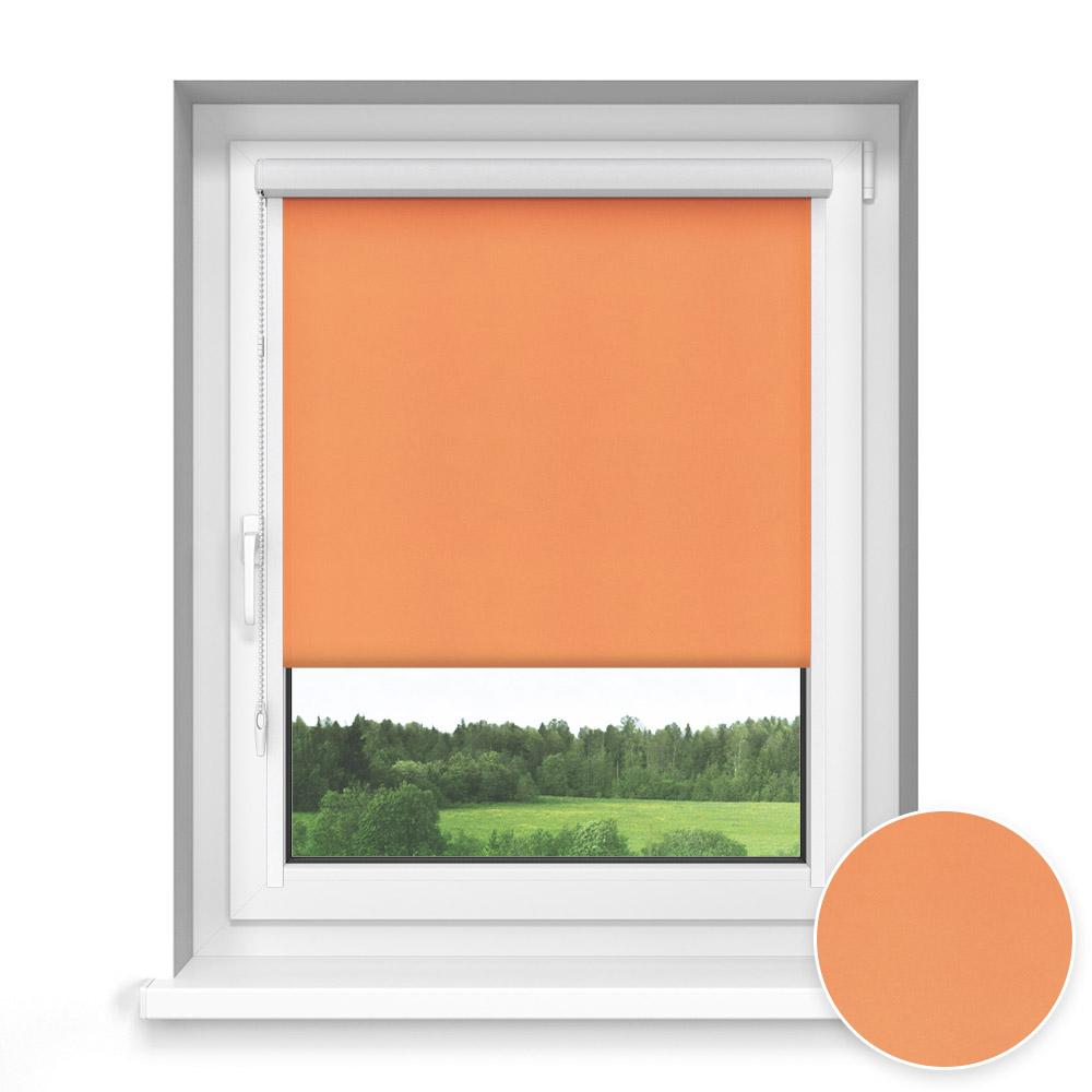 Store Enrouleur Avec Coffre Sur Mesure, Standard, Orange